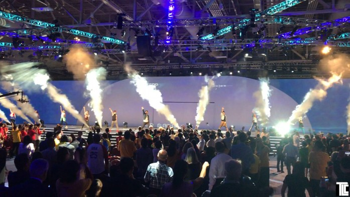 Fog Bursts & Special Effects at USANA event by TLC Creative